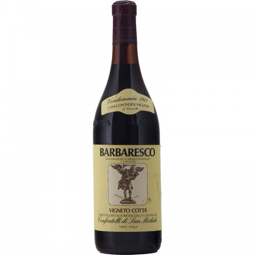 BARBARESCO VIGNETO COTTA' 1981 CONFRATELLI DI SAN MICHELE Grandi Bottiglie