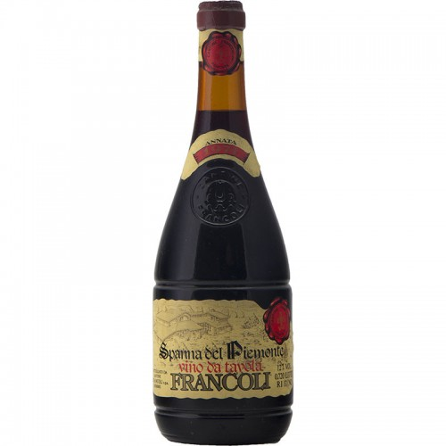 SPANNA DEL PIEMONTE 1974 FRANCOLI Grandi Bottiglie