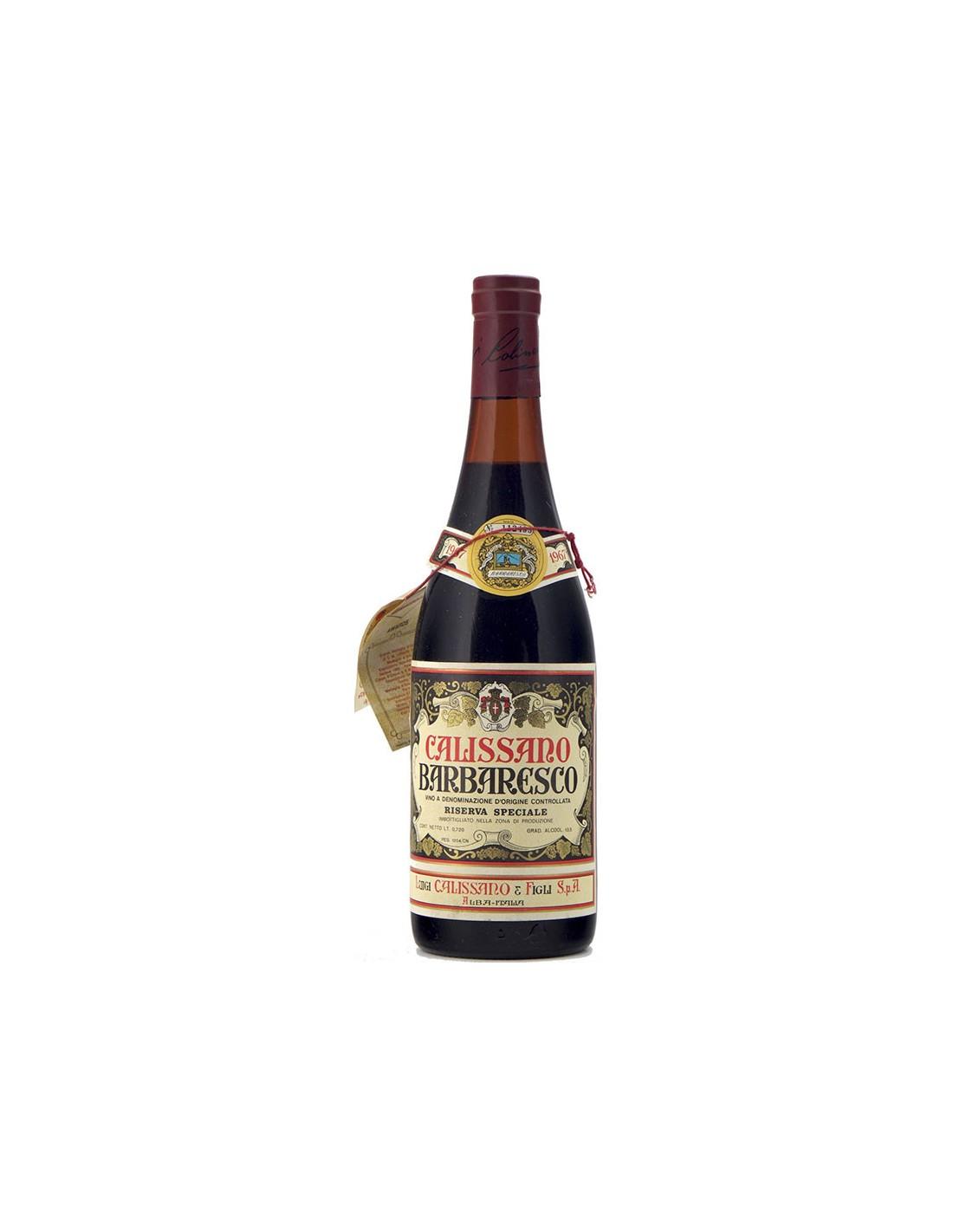 BARBARESCO RISERVA SPECIALE 1967 CALISSANO Grandi Bottiglie