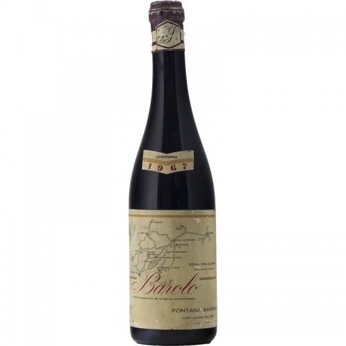 BAROLO 1967 FONTANA SAVERIO Grandi Bottiglie