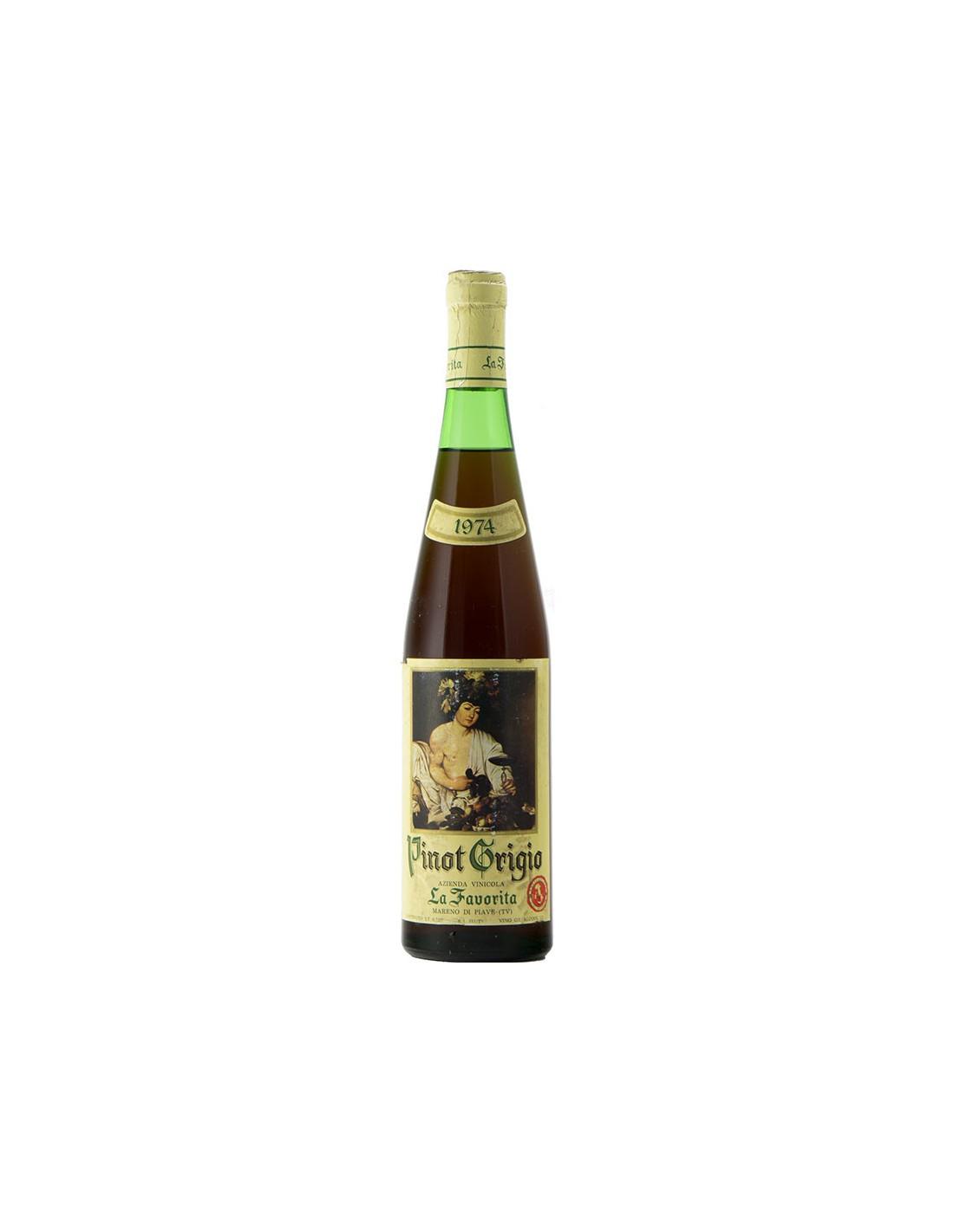 PINOT GRIGIO 1974 LA FAVORITA Grandi Bottiglie