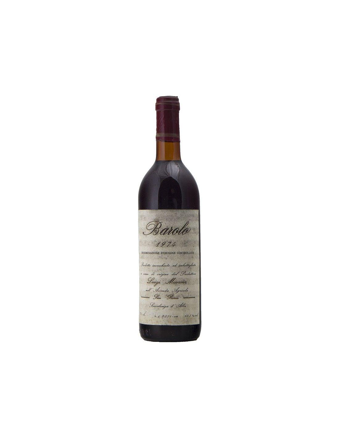 BAROLO 1974 MOSCONE Grandi Bottiglie