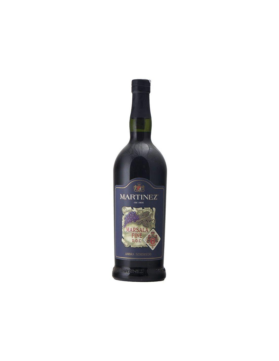 MARSALA FINE AMBRA SEMISECCO 75 CL NV MARTINEZ Grandi Bottiglie