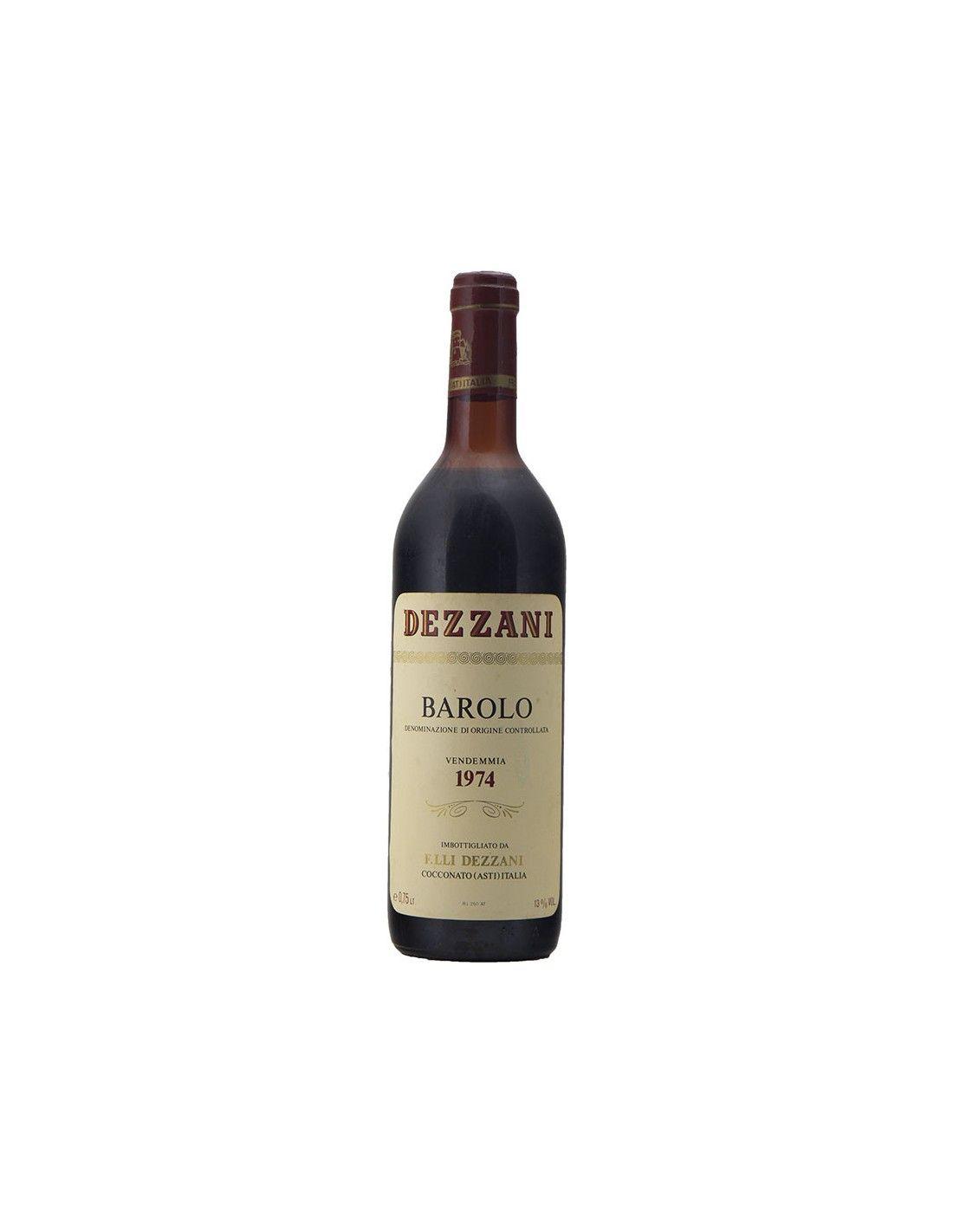 BAROLO 1974 DEZZANI Grandi Bottiglie