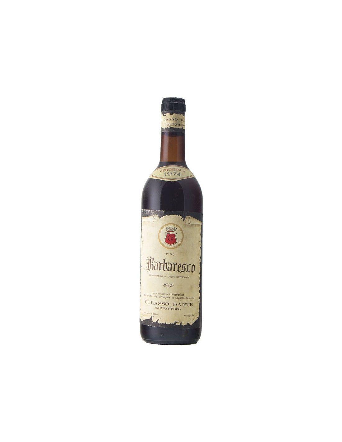 BARBARESCO 1974 CULASSO Grandi Bottiglie