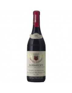 Barbaresco 1981 CANTINA VIGNAIOLI ELVIO PERTINACE GRANDI