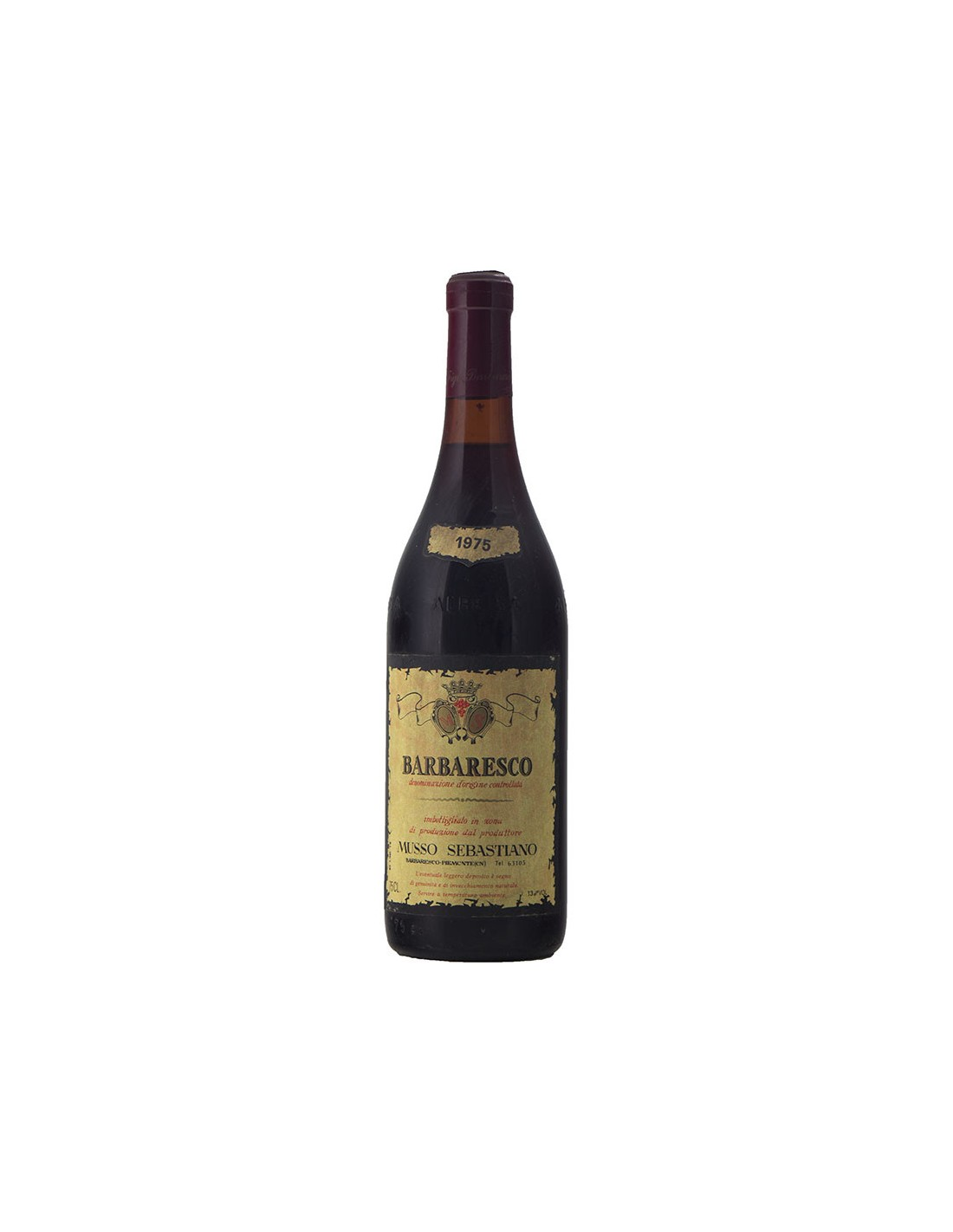 BARBARESCO 1975 MUSSO Grandi Bottiglie