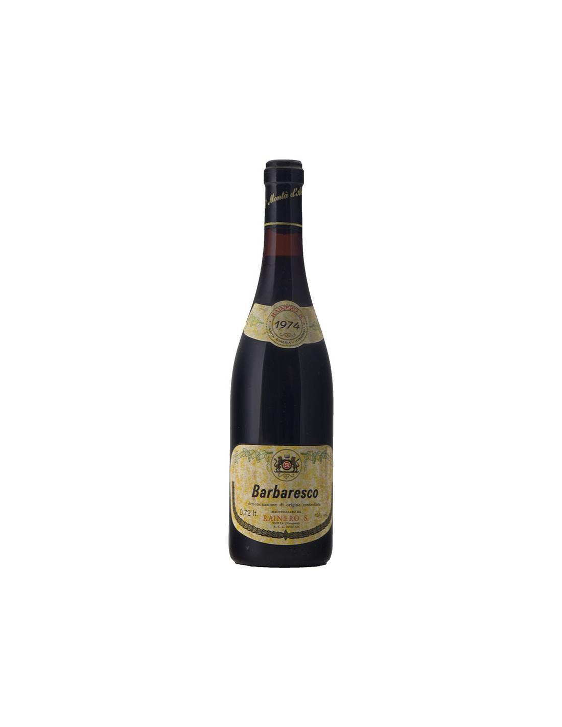 BARBARESCO 1974 RAINERO Grandi Bottiglie