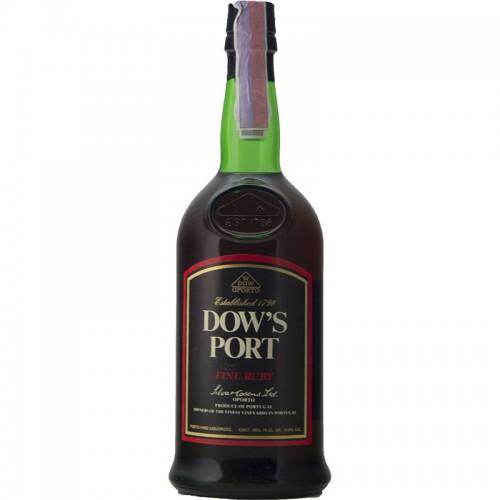 PORTO DOW'S RUBY 75CL NV SILVA COSENS Grandi Bottiglie