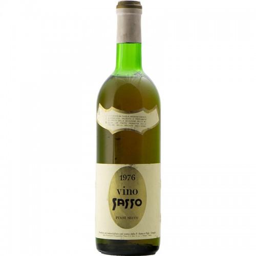 Vino Sasso Pinot Secco 1976 P. SASSO GRANDI BOTTIGLIE