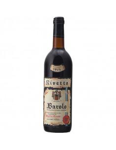 Barolo 1974 RIVETTO ERCOLE GRANDI BOTTIGLIE