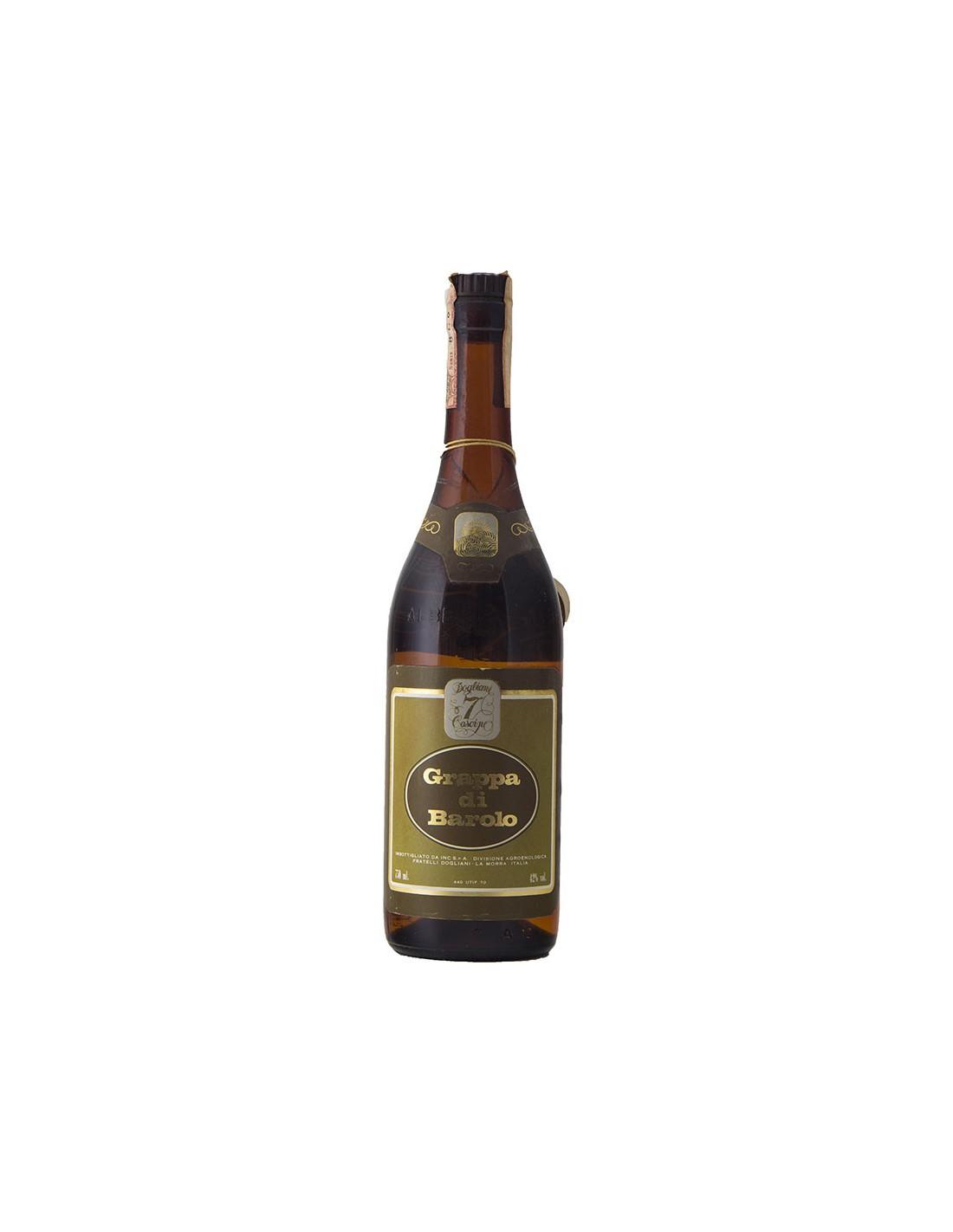 GRAPPA DI BAROLO 7 CASCINE NV CANTINA DEL DOLCETTO DI DOGLIANI Grandi Bottiglie