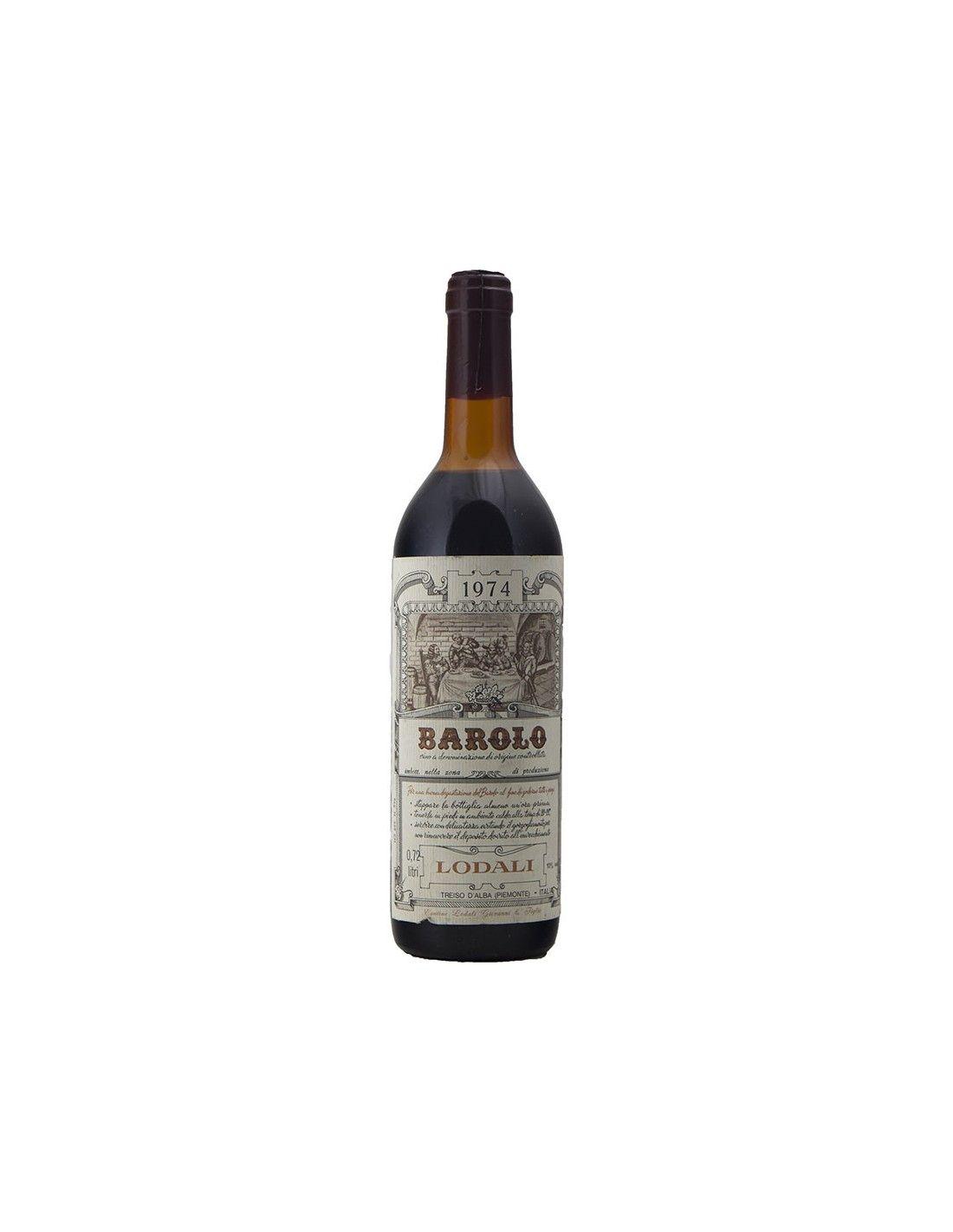 BAROLO 1974 LODALI Grandi Bottiglie