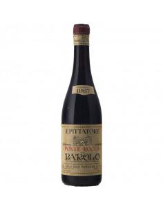 BAROLO 1967 PITTATORE FRANCESCO Grandi Bottiglie