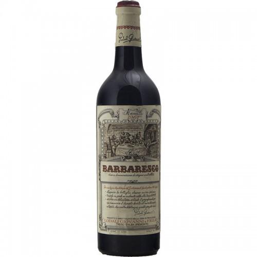 Barbaresco 1961 LODALI GRANDI BOTTIGLIE