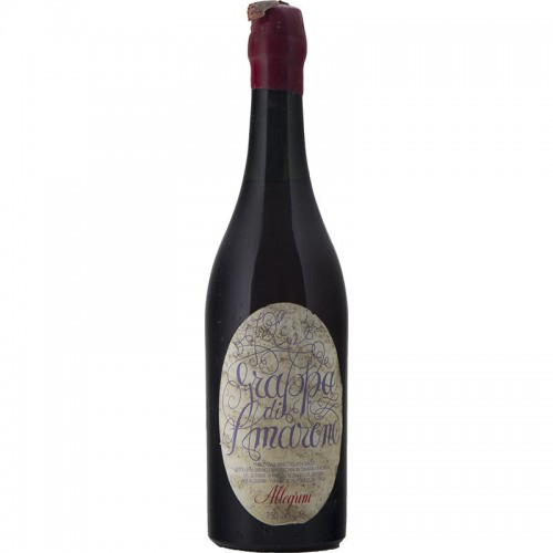 GRAPPA DI AMARONE 75 CL NV ALLEGRINI Grandi Bottiglie