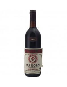 BAROLO 1970 VEGLIO PASQUALE Grandi Bottiglie