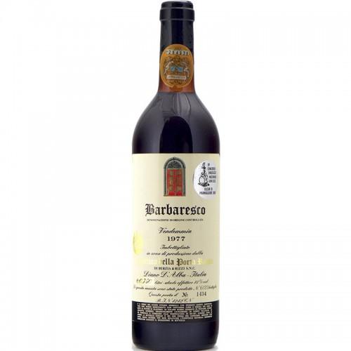 BARBARESCO 1977 CANTINA DELLA PORTA ROSSA Grandi Bottiglie