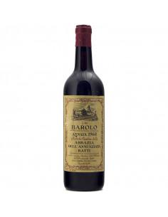 BAROLO ABBAZIA DELL'ANNUNZIATA 1968 RATTI Grandi Bottiglie