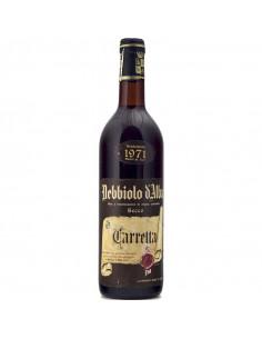 Nebbiolo D'Alba 1971 TENUTA CARRETTA GRANDI BOTTIGLIE