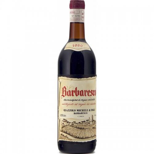 BARBARESCO 1980 MICHELE QUAZZOLO Grandi Bottiglie