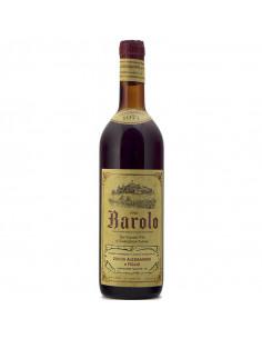 BAROLO VILLE 1971 ZOCCA ALESSANDRO Grandi Bottiglie