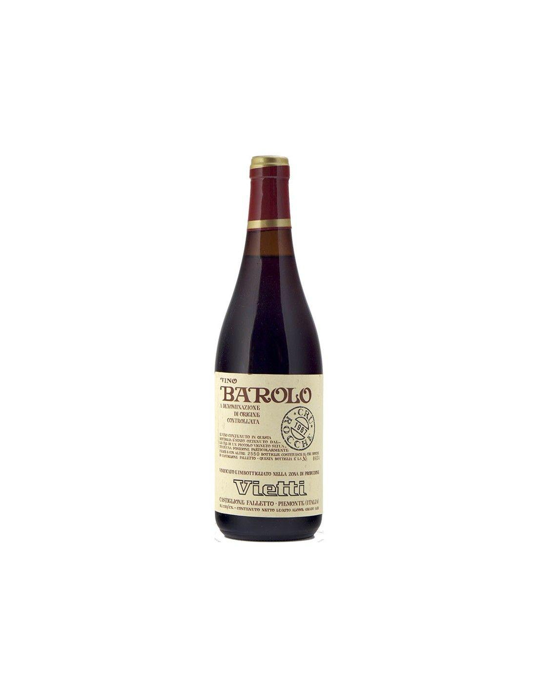 BAROLO ROCCHE CLEAR COLOUR 1967 VIETTI Grandi Bottiglie