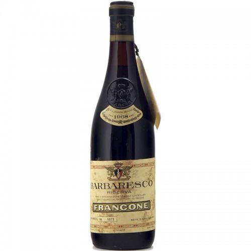 BARBARESCO RISERVA 1968 FRANCONE Grandi Bottiglie