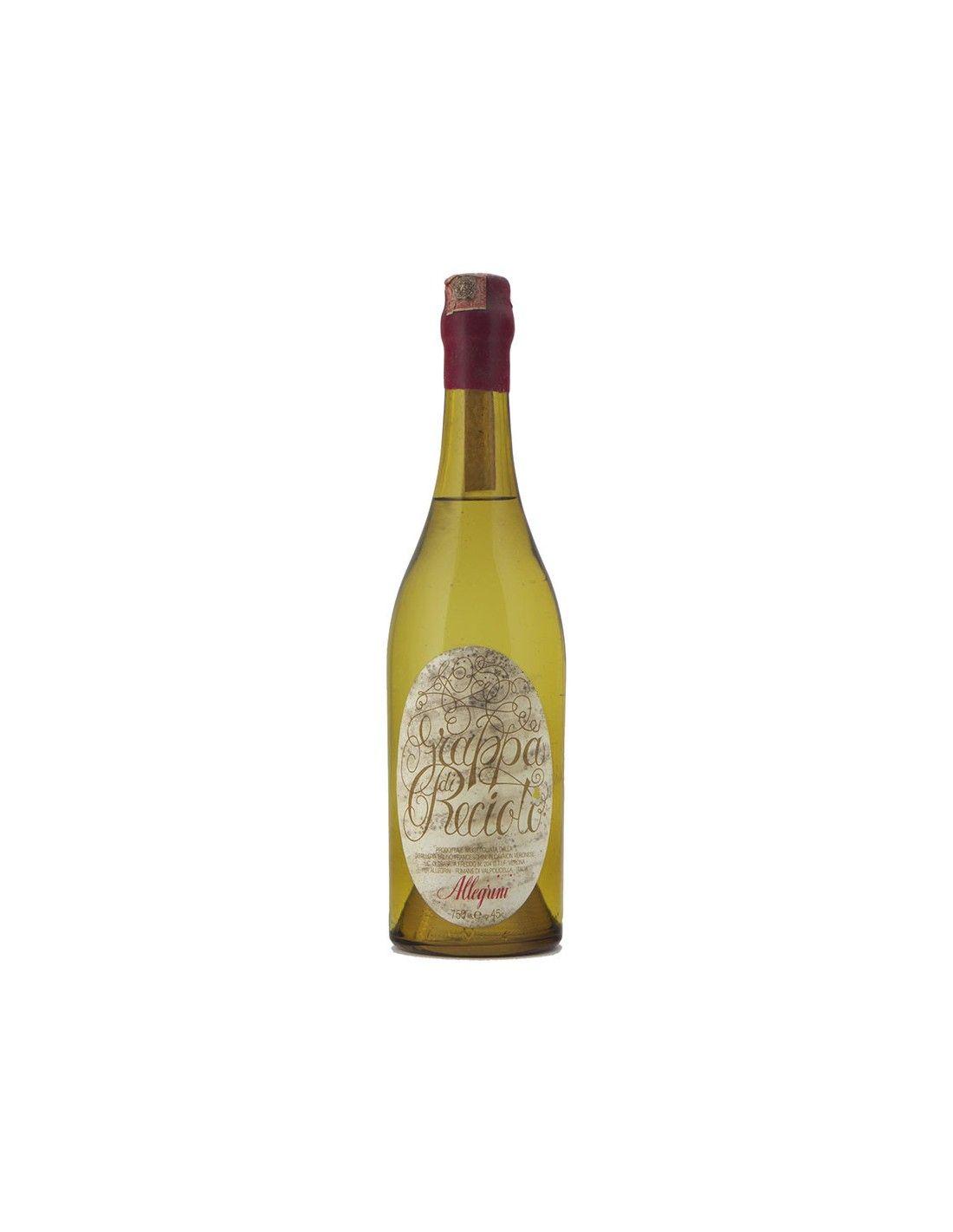GRAPPA DI RECIOTO 75 CL NV ALLEGRINI Grandi Bottiglie