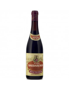 BARBARESCO 1970 MINUTO FLOR Grandi Bottiglie