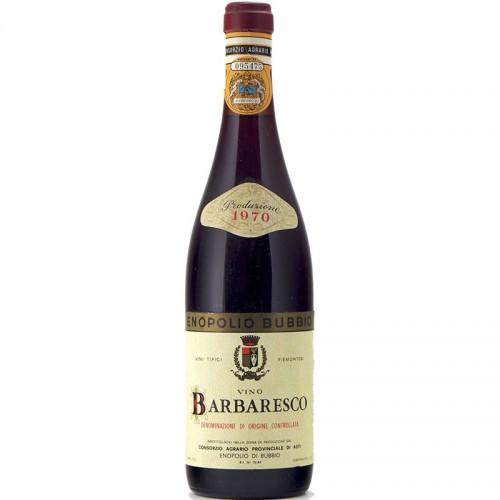 BARBARESCO 1970 ENOPOLIO DI BUBBIO Grandi Bottiglie