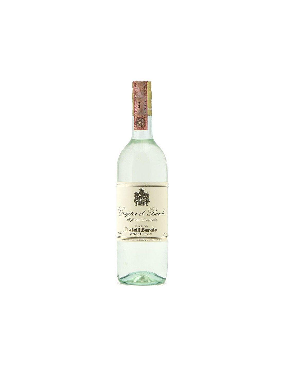 GRAPPA DI BAROLO 75CL NV FRATELLI BARALE Grandi Bottiglie
