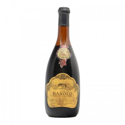BAROLO 1968 SCANAVINO Grandi Bottiglie