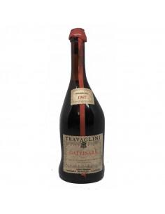 GATTINARA SELEZIONE NUMERATA 1967 TRAVAGLINI Grandi Bottiglie