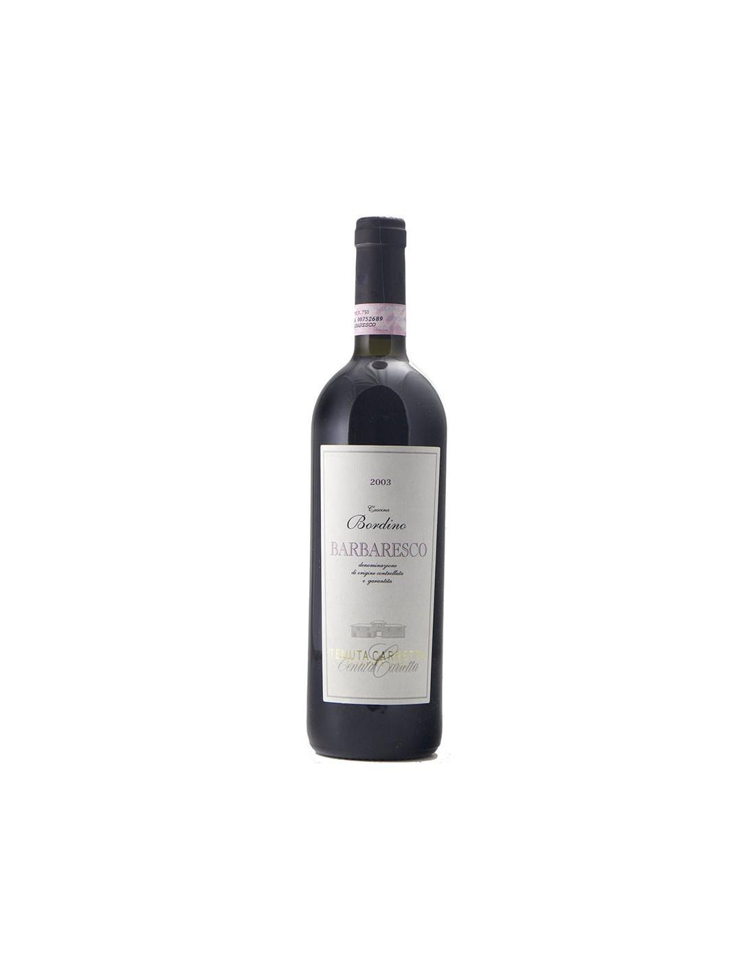 BARBARESCO CASCINA BORDINO 2003 TENUTA CARRETTA Grandi Bottiglie