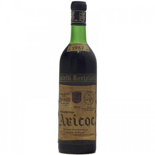 CHIARETTO ARICOT 1967 FRATELLI BERTELETTI Grandi Bottiglie