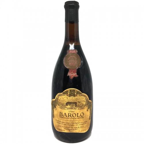 BAROLO 1967 SCANAVINO Grandi Bottiglie
