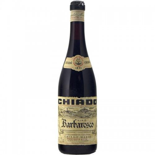 Barbaresco 1971 CHIADO' GRANDI BOTTIGLIE