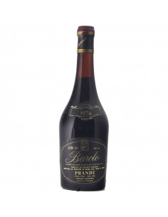 BAROLO 1974 PRANDI MASSIMO Grandi Bottiglie