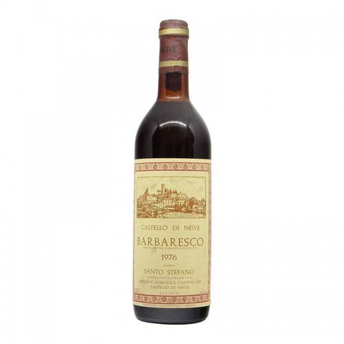 BARBARESCO SANTO STEFANO 1976 CASTELLO DI NEIVE Grandi Bottiglie