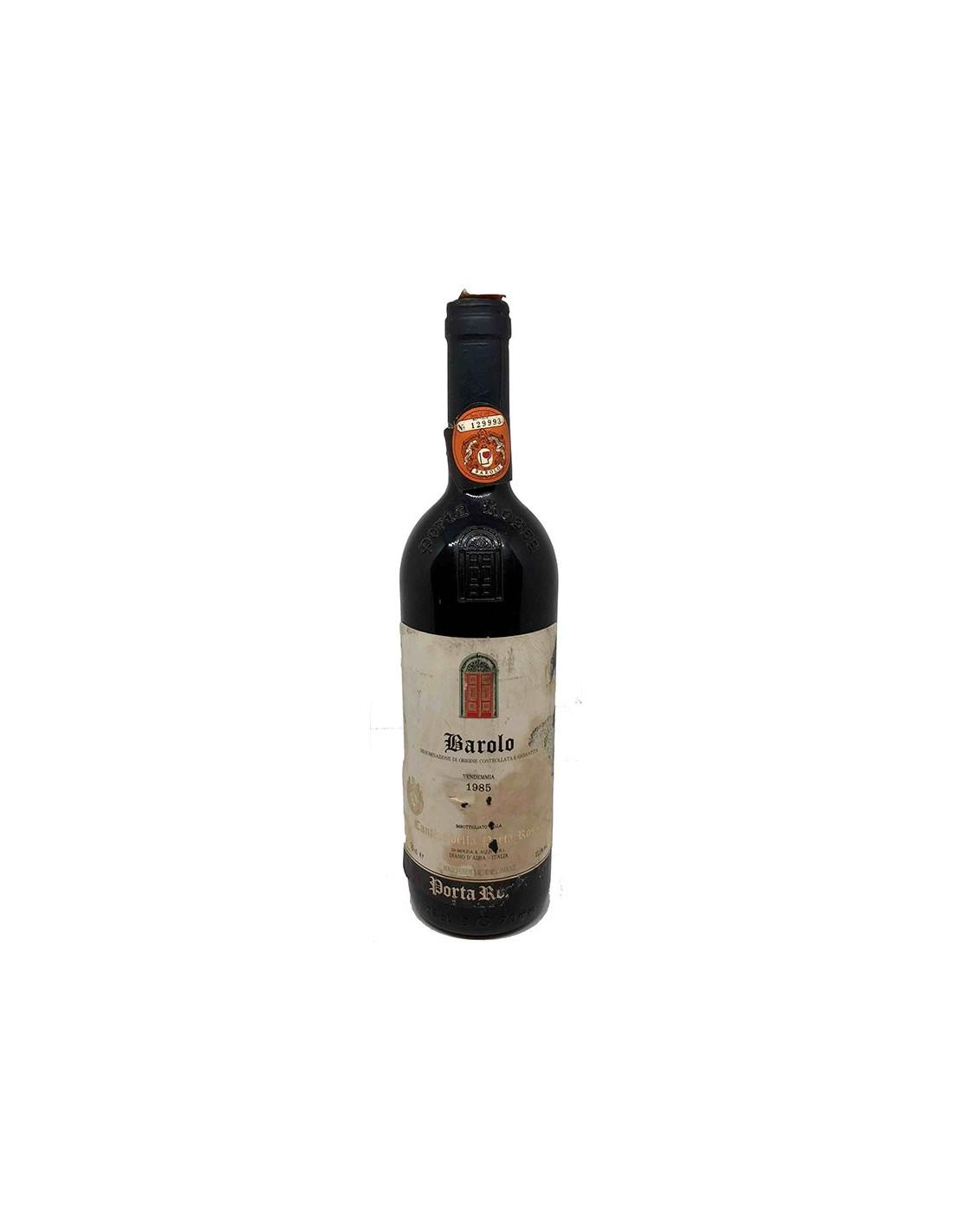 BAROLO 1985 CANTINA DELLA PORTA ROSSA Grandi Bottiglie