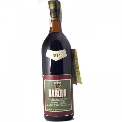 BAROLO 1974 CAGLIERO Grandi Bottiglie