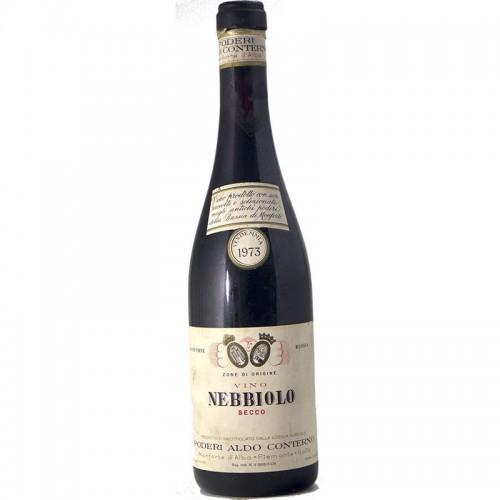 NEBBIOLO SECCO DELLA BUSSIA 1973 PODERI ALDO CONTERNO Grandi Bottiglie