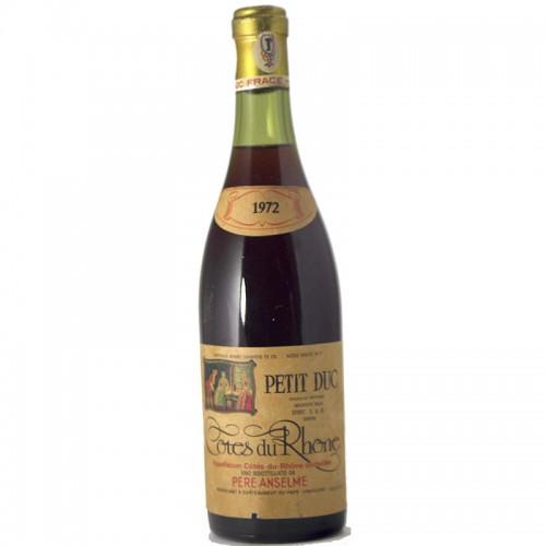 COTES DU RHONE 1972 ANSELME PERE Grandi Bottiglie