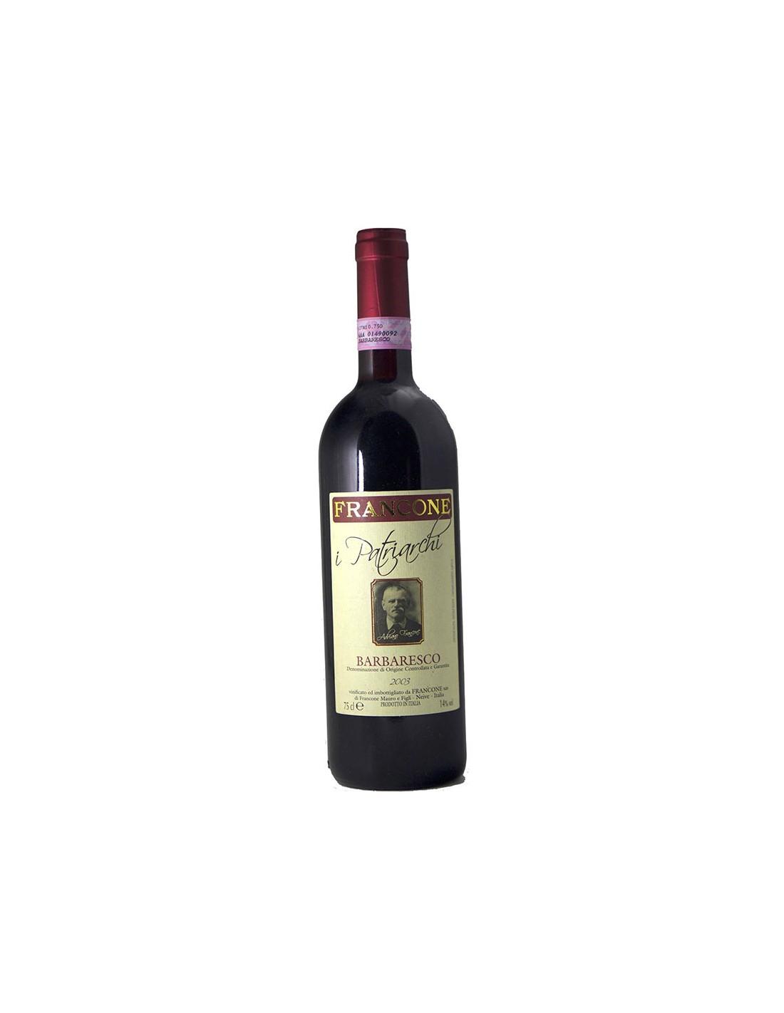 BARBARESCO I PATRIARCHI 2003 FRANCONE Grandi Bottiglie