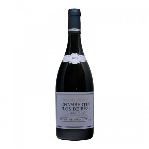CHAMBERTIN CLOS DE BEZE GRAND CRU 2014 DOMAINE BRUNO CLAIR Grandi Bottiglie