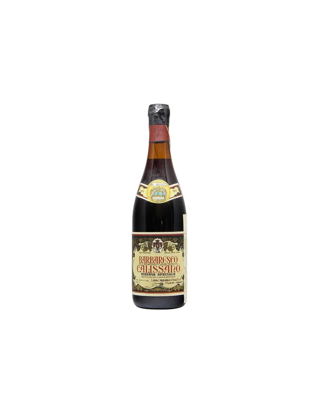 BARBARESCO RISERVA SPECIALE 1971 CALISSANO Grandi Bottiglie