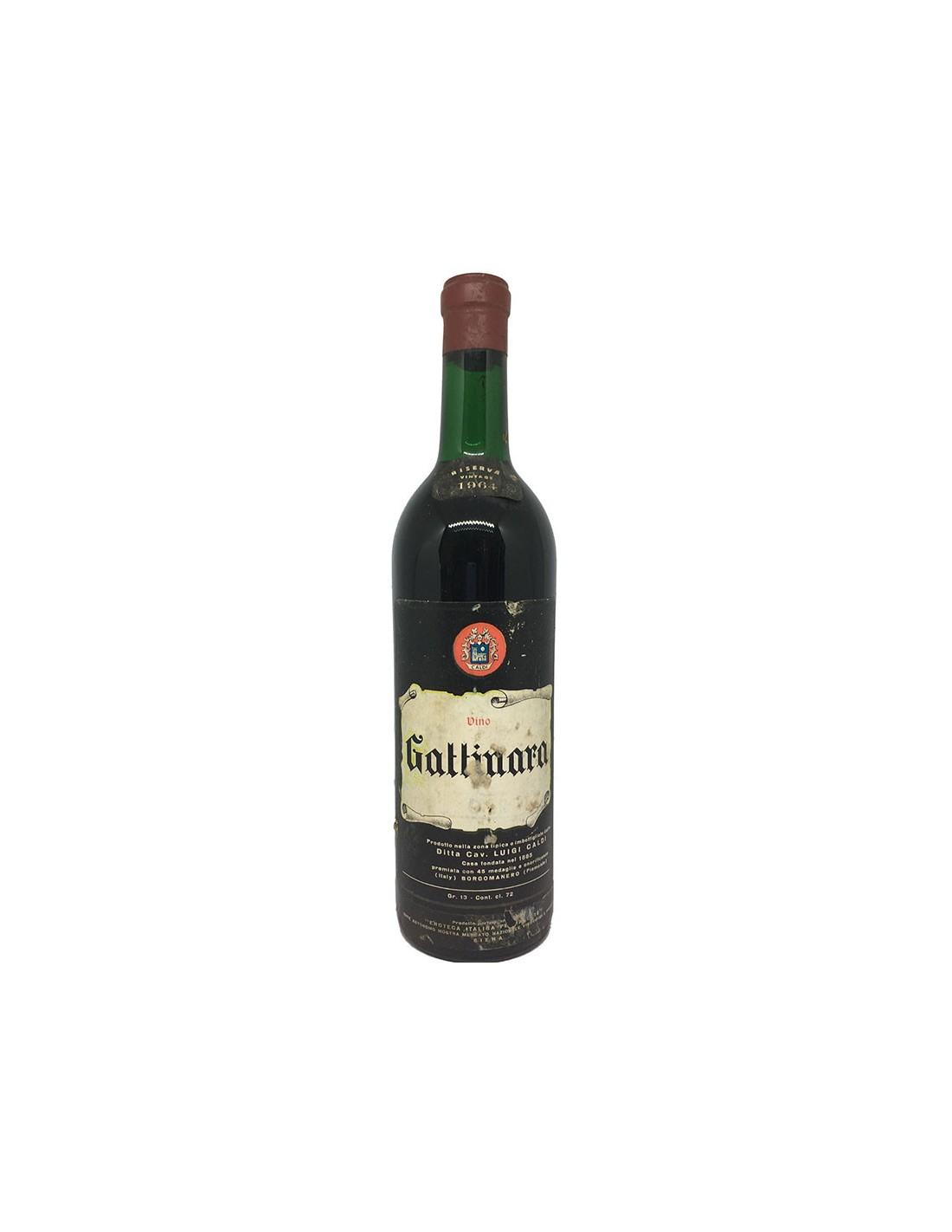 GATTINARA RISERVA 1964 CALDI Grandi Bottiglie
