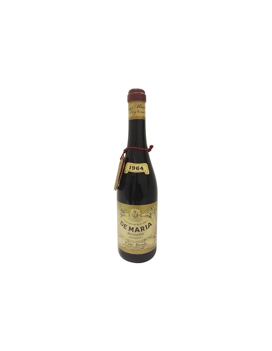 BAROLO 1964 DE MARIA Grandi Bottiglie