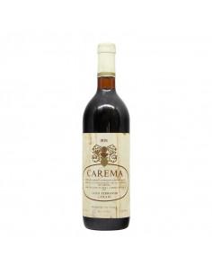 CAREMA ETICHETTA BIANCA 1976 FERRANDO Grandi Bottiglie